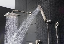 moen rain shower head